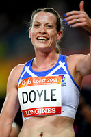 Eilidh Doyle Silver Medalist 400m Hurdles at Gold Coast Commonwealth Games 2018