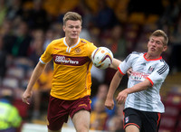 Soccer - Pre Season Friendly - Motherwell v Fulham - Fir Park.