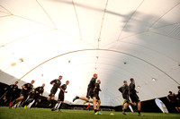 training at dome