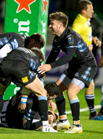07/12/17 / EUROPEAN RUGBY CHAMPIONS CUPGLASGOW WARRIORS V MONTPELLIER - SCOTSTOUN - GLASGOW