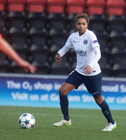 Soccer - UEFA Women's Champions League - Quarter Final - Glasgow City v Paris St Germain - Excelsior Stadium